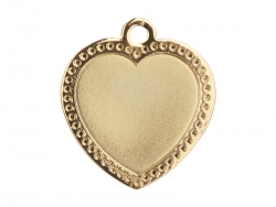 Gold Necklace(Heart)
