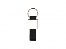 Strip PU Key Chain(Square)