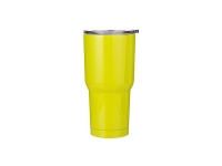 30oz Stainless Steel Tumbler (Lemon Green)