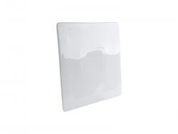 "Flat Square Ceramic Plate(9"")"