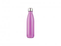 17oz/500ml Stainless Steel Cola Bottle (Purple)