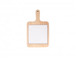 Square Cheese Board w/ Ceramic Tile(18*31cm)