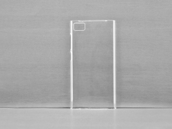 3D Xiaomi Mi3 Cover(Coated, Clear Glossy)