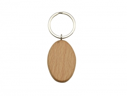UV Printing Wooden Key Chain(Oval)