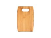 Arc Shaped Bamboo Cutting Board (22.86*15.24*1.1cm)  MOQ:1000pcs