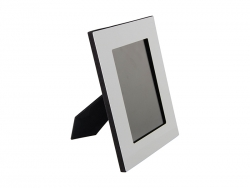 Aluminium Photo Frame w/ MDF Easel(18.3*23.5cm)