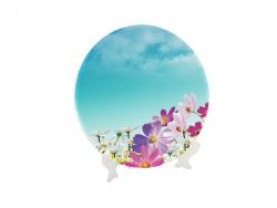 10'' Glass Plate