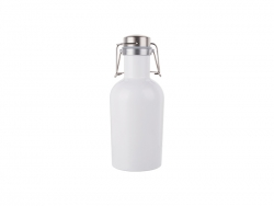 32oz/1000ml Sublimation Growler (White)