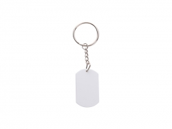 Plastic Dog Tag (Arc-Shaped, 27*45*2mm)