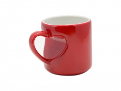 Heart Shape Handled Color Changing Mug(Red)