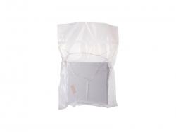 Flip Sequin Pillow Cover (Silver w/ Black, 40*40cm)