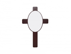 Cross Plaque(Oval Insert)