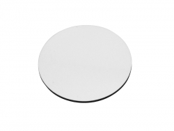 Round Hardboard Fridge Magnet (9.5*0.3cm)