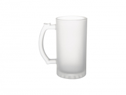 16oz Glass Beer Mug