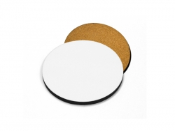 Sublimation Round Coaster with Cork