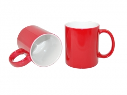 11oz Changing Color Mugs (Red)