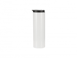 500ml Stainless Steel Flask Bottle (White)