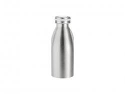 12oz/350ml Stainless Steel Milk Bottle (Silver)