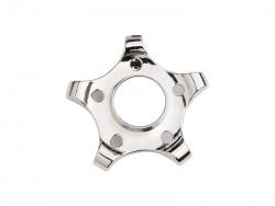 Fidget Spinner(Pentagonal Gear, Silver)