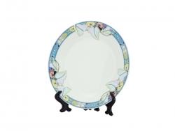 """7.5"""" Rim Plates(Lotus Leaf)"""