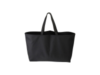 Canvas Tote Bag (Big, Black)