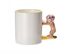 11oz Animal Mugs-Monkey