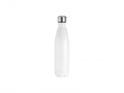 25oz/750ml Stainless Steel Cola Bottle(White)