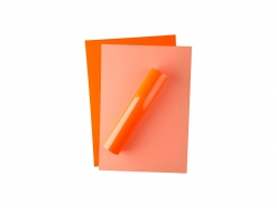 Forever Flex-Soft No-Cut Foil A4(Neon Orange)