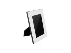 Aluminium Photo Frame w/ MDF Easel(15.6*20.6cm)