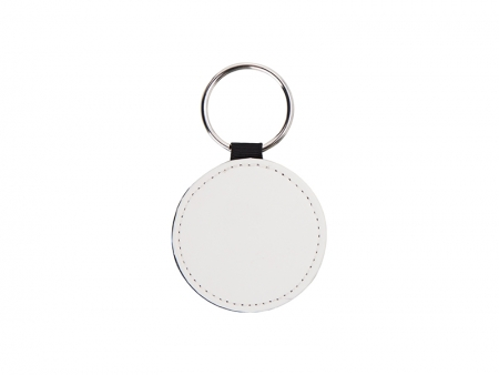 PU Leather Key Chain (Round)