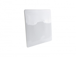 "Flat Square Ceramic Plate(10"")"