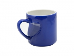 Heart Shape Handled Color Changing Mug(Blue)