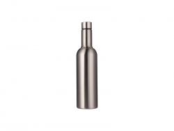 25oz/750ml Stainless Steel Wine Bottle (Silver)