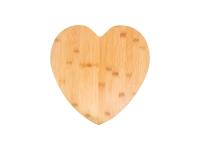 Heart Shaped Bamboo Cutting Board (33.5*33.5*1.5cm) MOQ:1000pcs