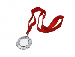 Sublimation Silver Badge