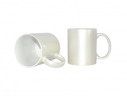 11oz Sparkling Mug(Pearl White)