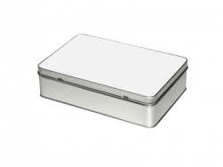 Metal Tin-Rectangular