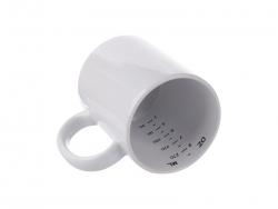 11oz Motto Mug (Measurement)