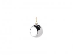 6cm Plastic Christmas Ball Ornament (Silver)  MOQ:200
