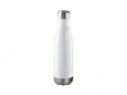 17oz/500ml Stainless Steel Cola Bottle(White)