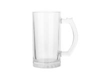16oz Glass Beer Mug (Clear)