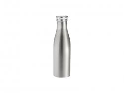 17oz/500ml Stainless Steel Milk Bottle (Silver)