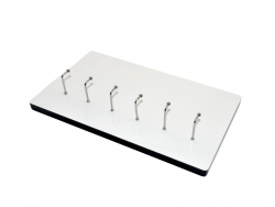 HB Sublimation Plaque with Six Hooks