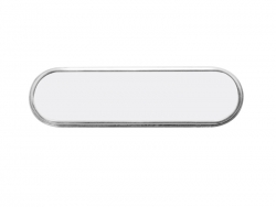 Oval Sublimation Name Badge