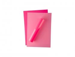 Forever Flex-Soft No-Cut Foil A4(Neon Pink)