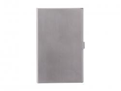 UV Business Name Card Holder(Brush,Silver)