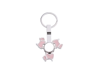 Fidget Spinner Key Ring (Dog)