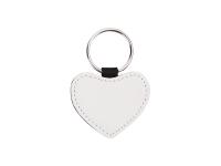PU Leather Key Chain (Heart)