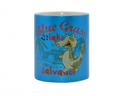 11oz Sparkling Mug(Light Blue)