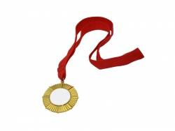 Sublimation Gold Badge